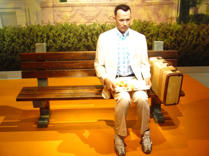 5. Forrest Gump is NOT a real person.