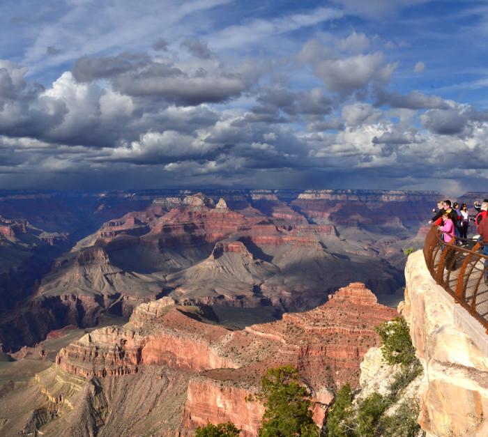 4. Grand Canyon Rim Trail, Grand Canyon National Park