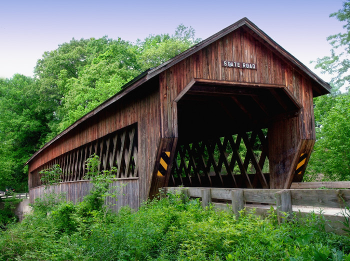1) State Road covered bridge (Ashtabula County)
