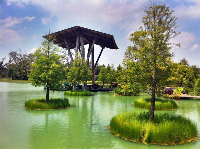 7) Shangri La Botanical Gardens and Nature Center (Orange)
