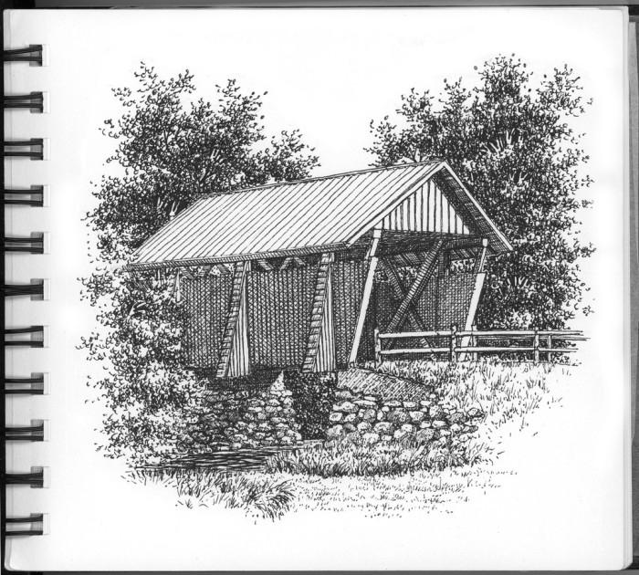 7. Campbell's Covered Bridge, Landrum, SC