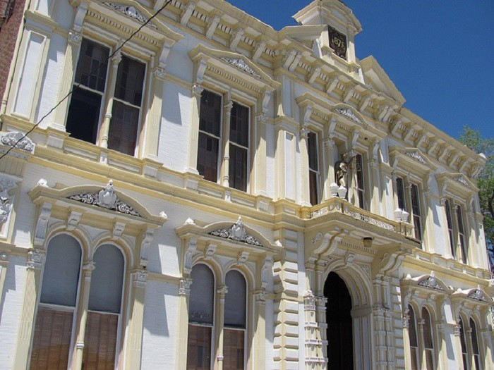 13. The Storey County Courthouse in Virginia City, Nevada.