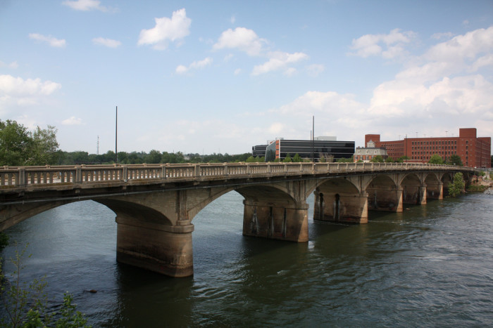 11) Horace King Memorial Bridge ( Also known as 14th Street Bridge) - Columbus