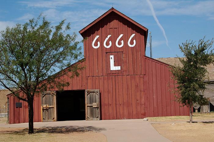 14) Lubbock National Ranching Heritage Center Barn