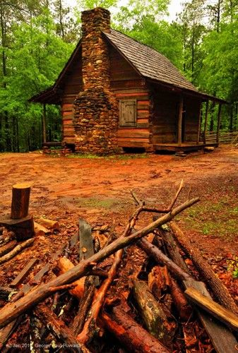 4) 1850's Cabin- Dallas, GA