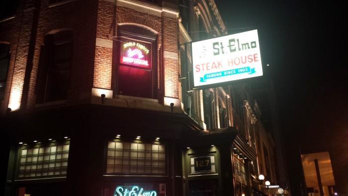 6) St. Elmo Steak House (Indianapolis)