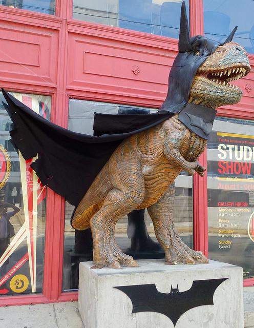 8. Downtown T-Rex