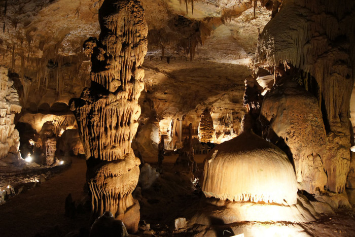 13) Any of the nine caverns and caves in Texas (the one pictured here is Cave Without A Name)
