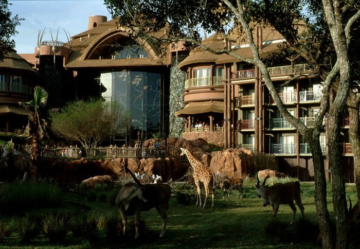3. Guests at Disney's Animal Kingdom Lodge in Orlando can watch animals usually found on safari from the comfort of their rooms. Talk about a room with a view!