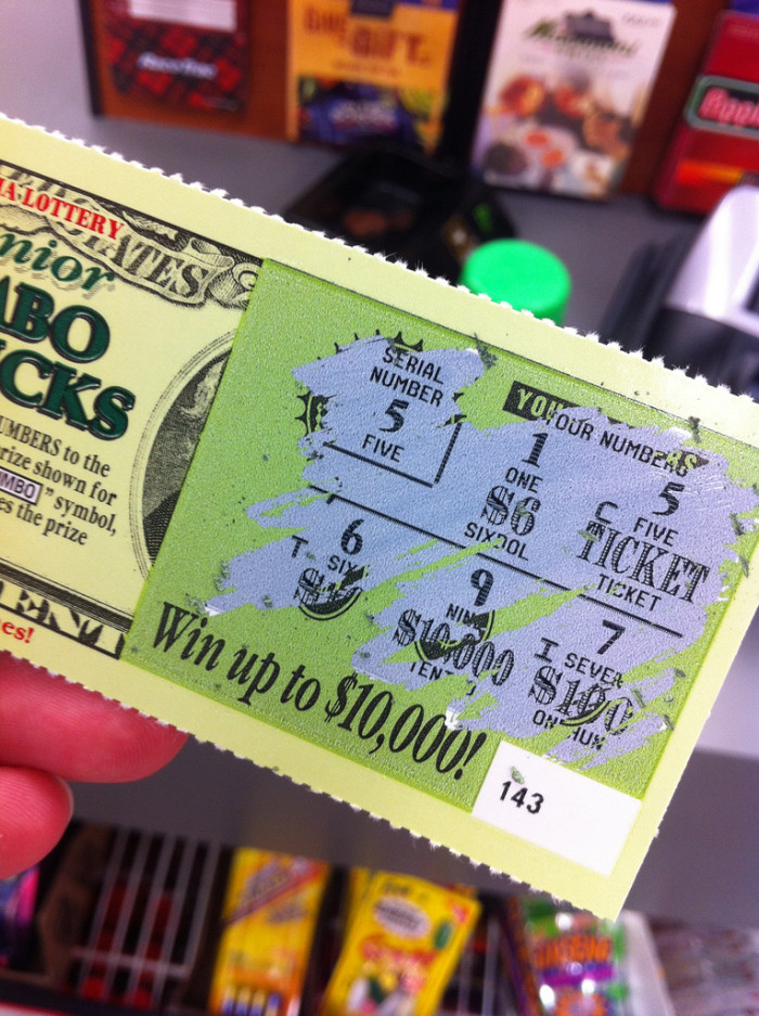 13. Nevada is one of only seven states without a lottery.