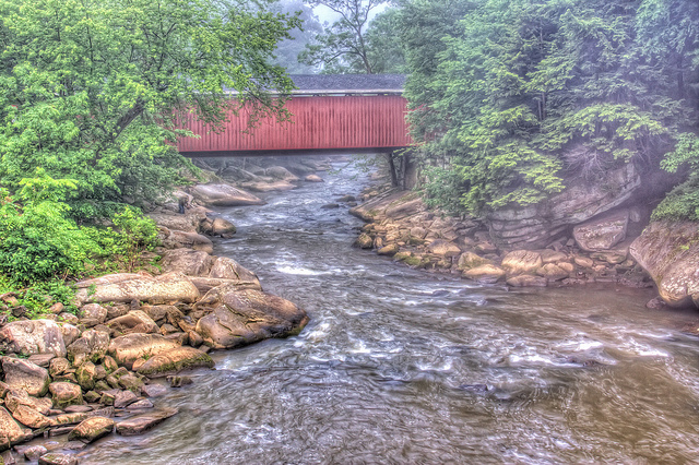 12. McConnells Mill Covered Bridge, McConnells Mill State Park