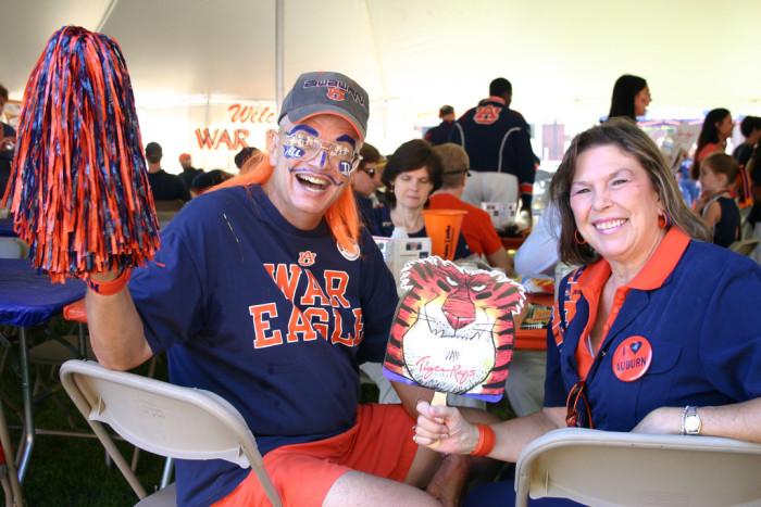 3. The Auburn Fan