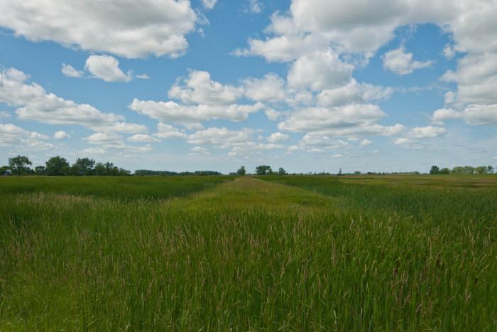 1. A beautiful landscape in Nanson, North Dakota.