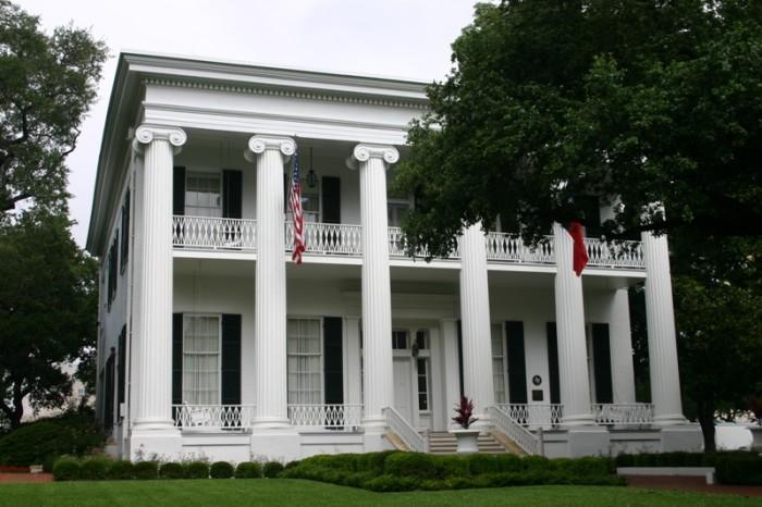 5) Governor's Mansion (Austin)