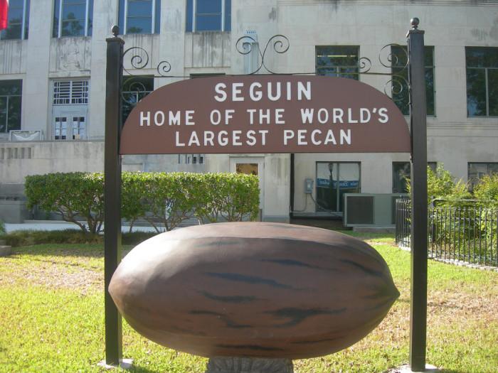 7) World's Largest Pecan (Seguin)