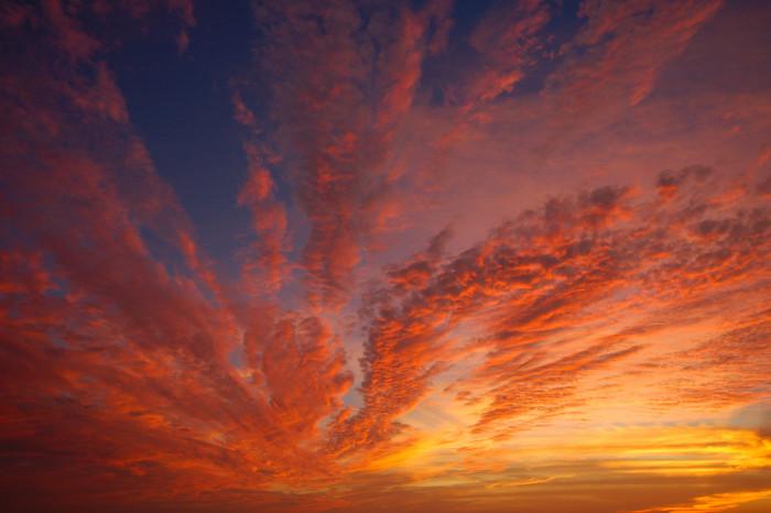 29. Surreal Sunset