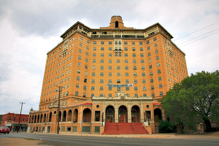 1) Baker Hotel (Mineral Wells)
