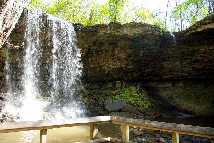 6) Charleston Falls.