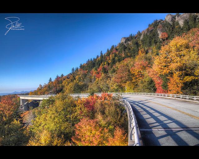 11. Linn Cove Viaduct, Blue Ridge Parkway