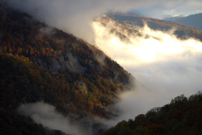 21. The Mountains of the Upstate, SC