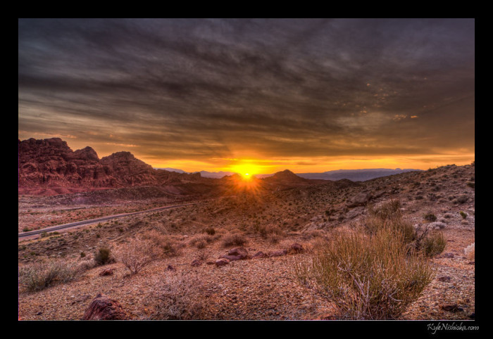5. A Valley of Fire sunrise never disappoints!