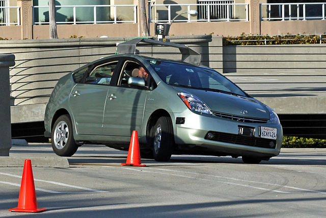 1) Driver-less Car Test Driver