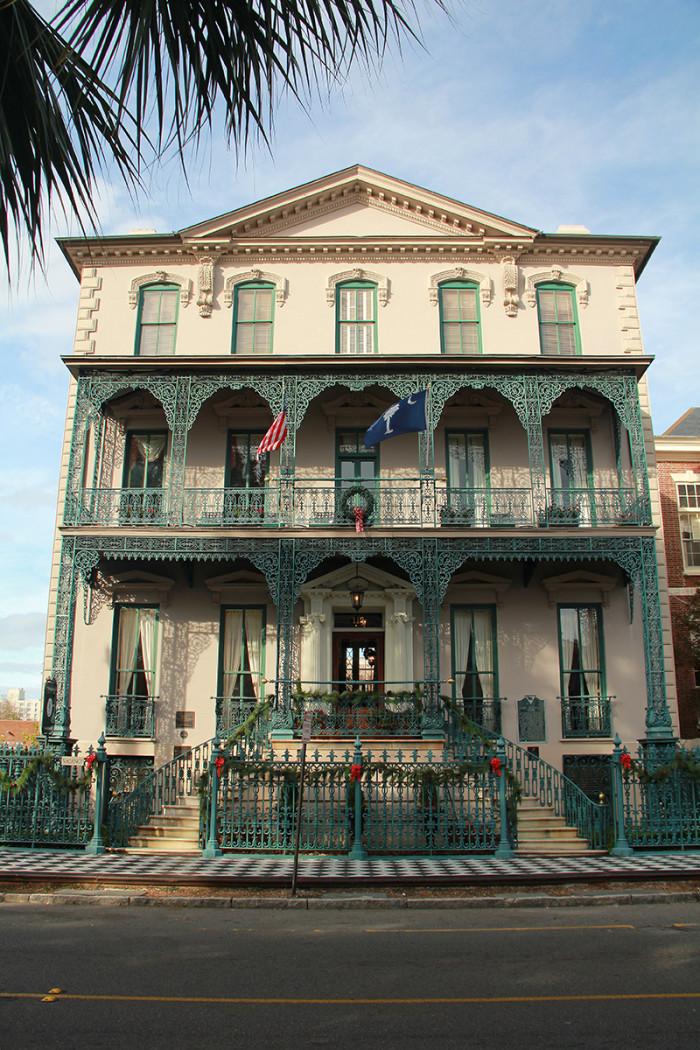 10. Rutledge House, Charleston, SC