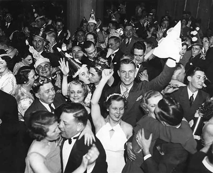 6. 1936 New Year's Eve in Minneapolis.