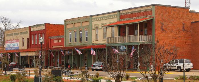 7) Downtown Plains, GA
