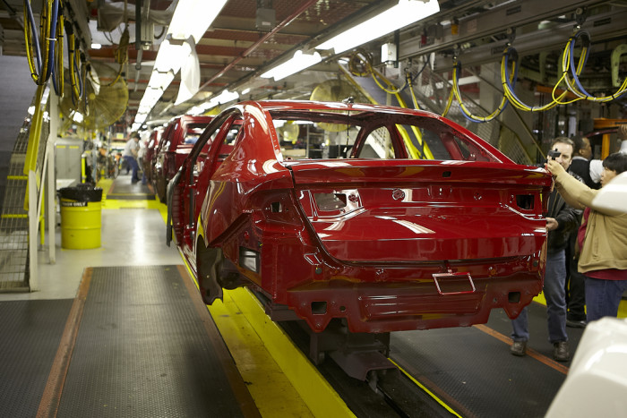 6. We all work in the automotive industry