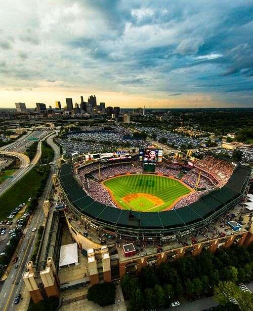 3) A game at Turner Field.