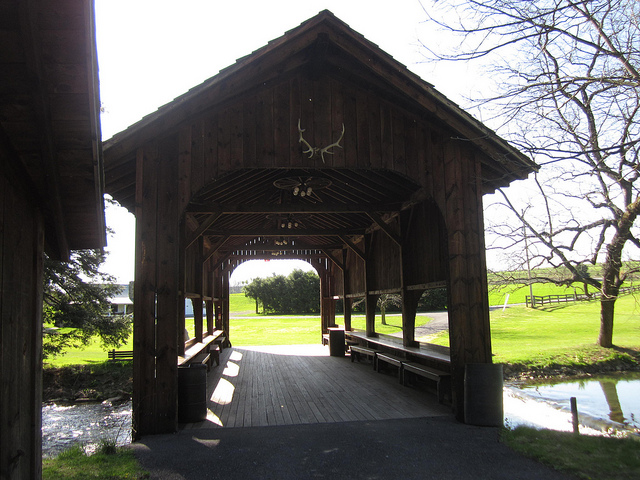 15. Harpster Covered Bridge, Spruce Creek