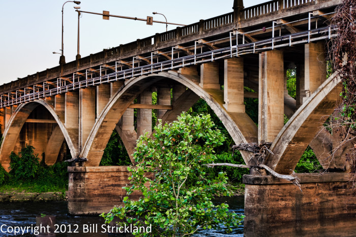 8) Broad Avenue Bridge over the Flint River-- Albany