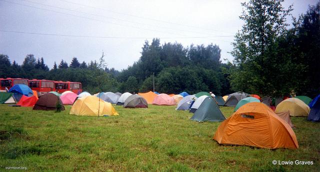 5. Camping gear