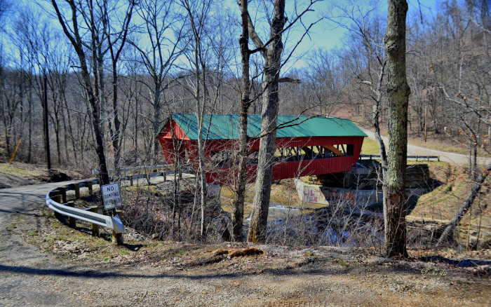 10) Helmick covered bridge (Morgan County)