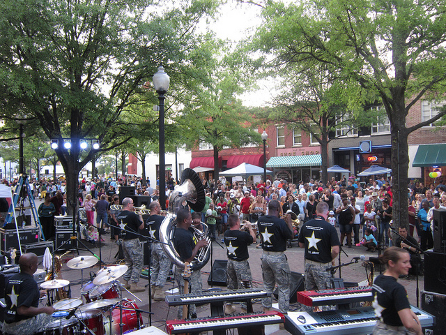 7. Fayetteville Dogwood Festival, April