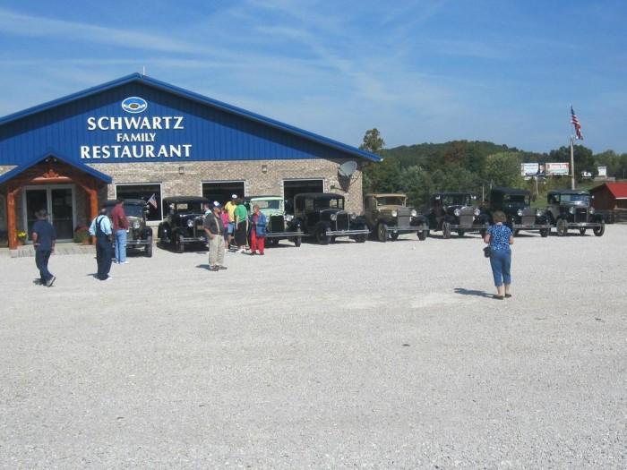 7) Schwartz Family Restaurant (Eckerty)