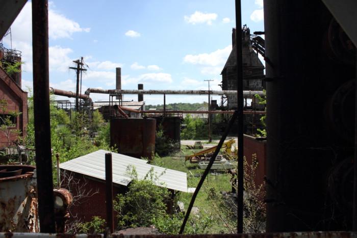 7. The old Thomas Coke Plant in Birmingham, Alabama.