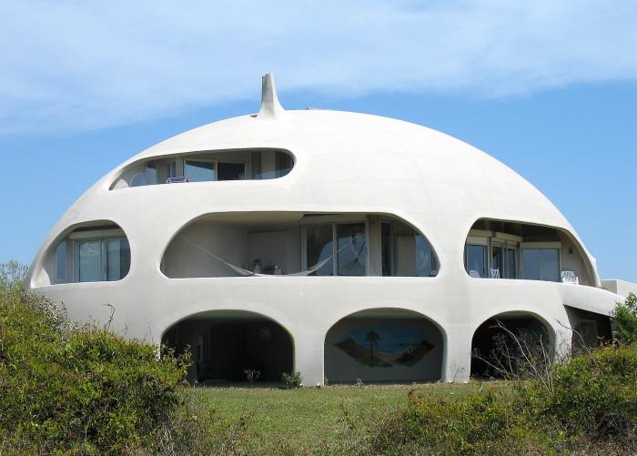10. Round beach house, Isle of Palms, SC
