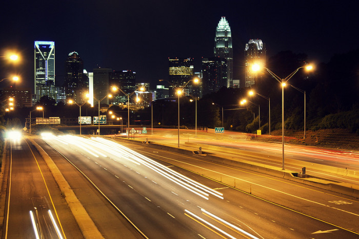 7. Easily walk to one of the best views of the Charlotte skyline