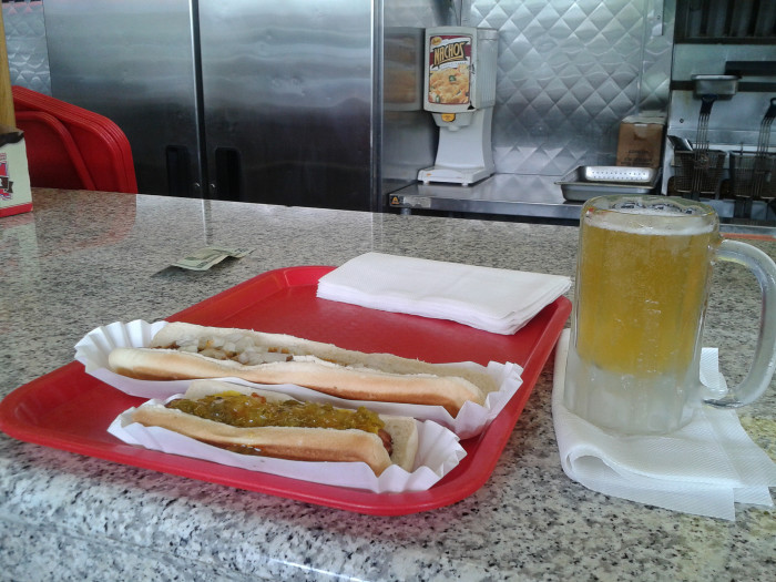 Skin Hot Dogs Greenville Sc