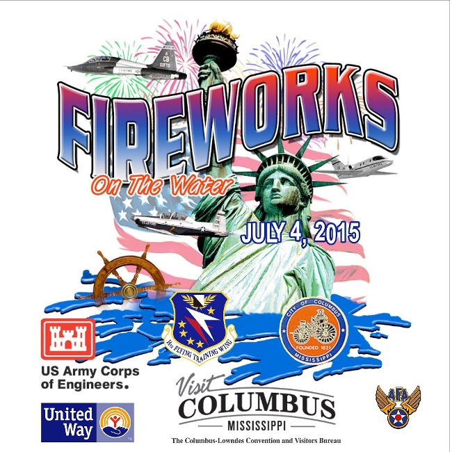 7. Fireworks on the Water 2015