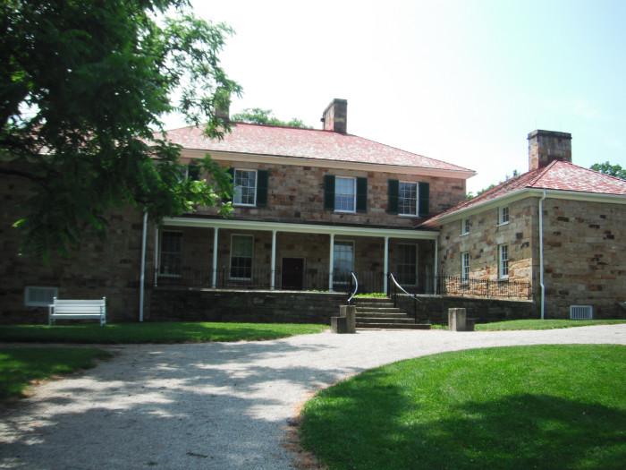 12) Adena Mansion and Gardens