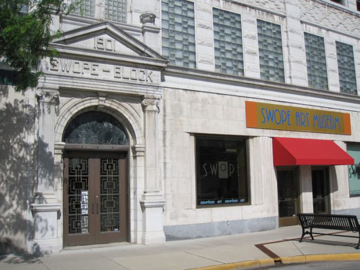 3. Swope Art Museum, 25 S. Seventh St., Terre Haute, Indiana