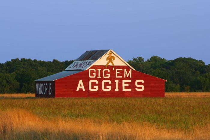 3) Aggie Barn (Reagan)