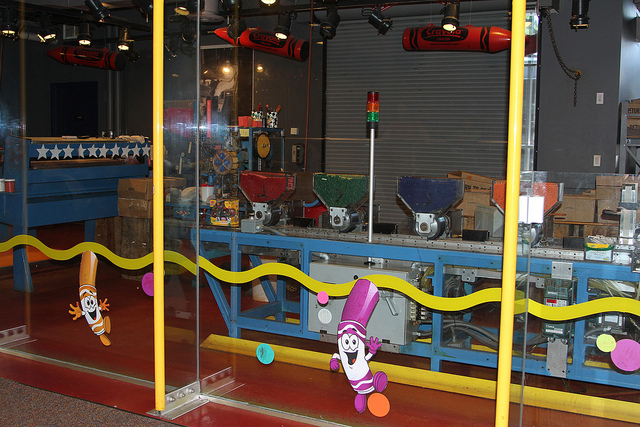14. The Crayola Factory, located in Easton