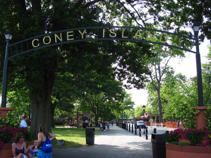 10) Coney Island Amusement Park