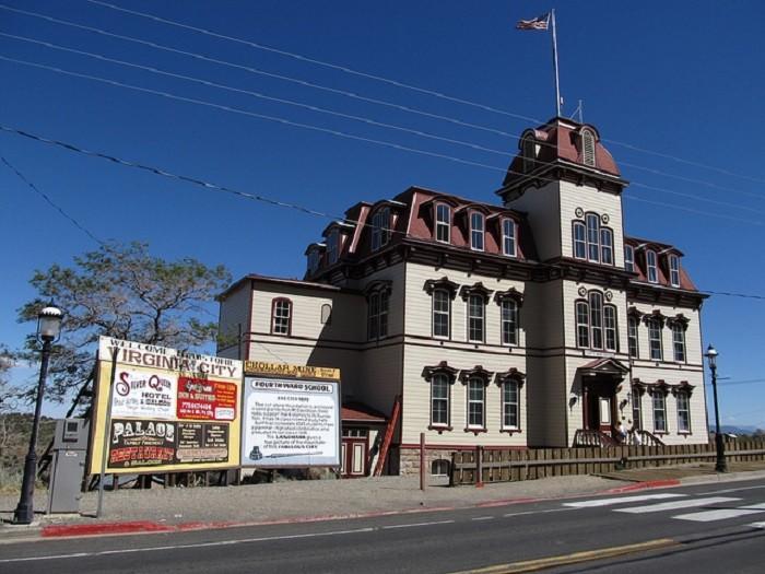 2. Fourth Ward School in Virginia City, Nevada.