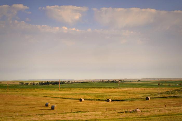 7. A western morning sky in Richardton, North Dakota.