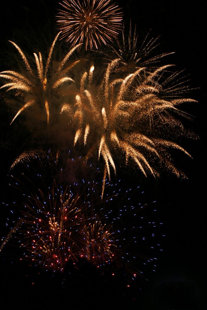 1) Alpharetta July 4th Fireworks and Festivities:  Saturday, July 4, 2015 11925 Wills Road Alpharetta, GA